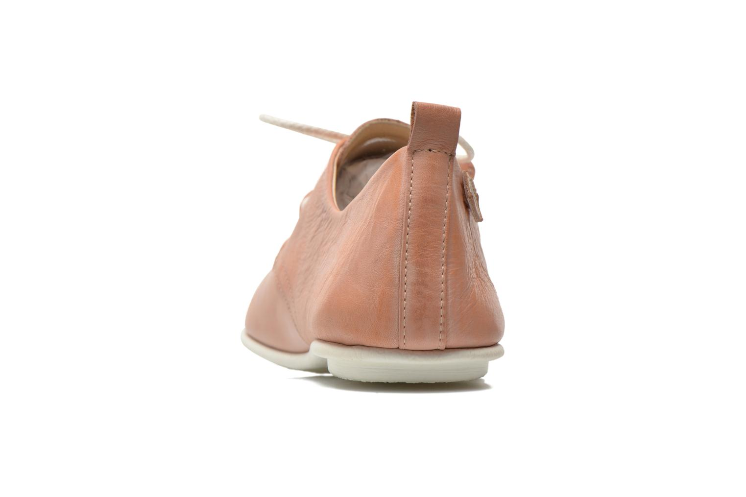 Lace-up shoes Pikolinos Calabria 917-7123KR Pink view from the right