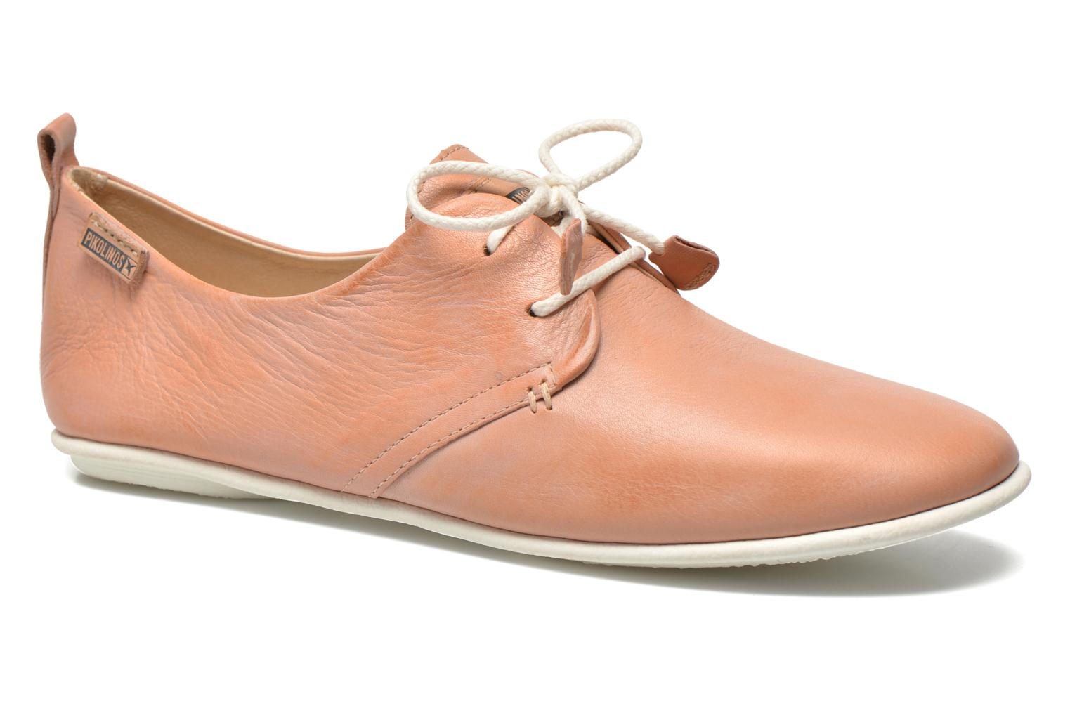 Lace-up shoes Pikolinos Calabria 917-7123KR Pink detailed view/ Pair view