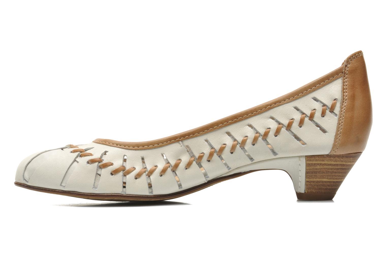 High heels Pikolinos Elba W4B-5528 Beige front view