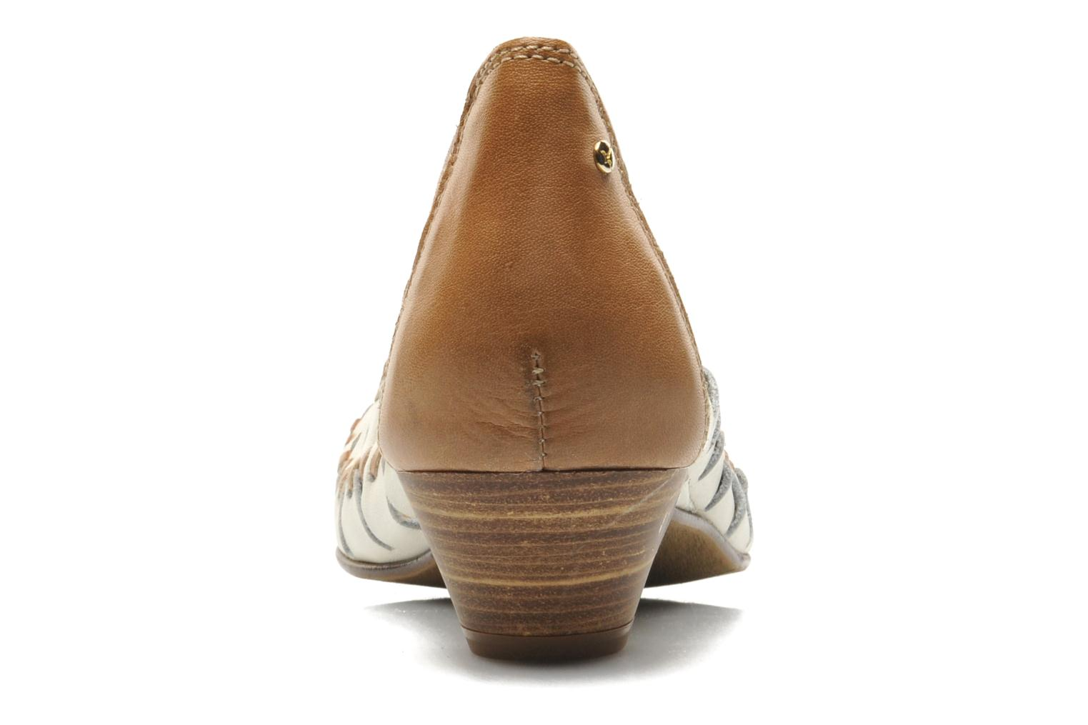 High heels Pikolinos Elba W4B-5528 Beige view from the right
