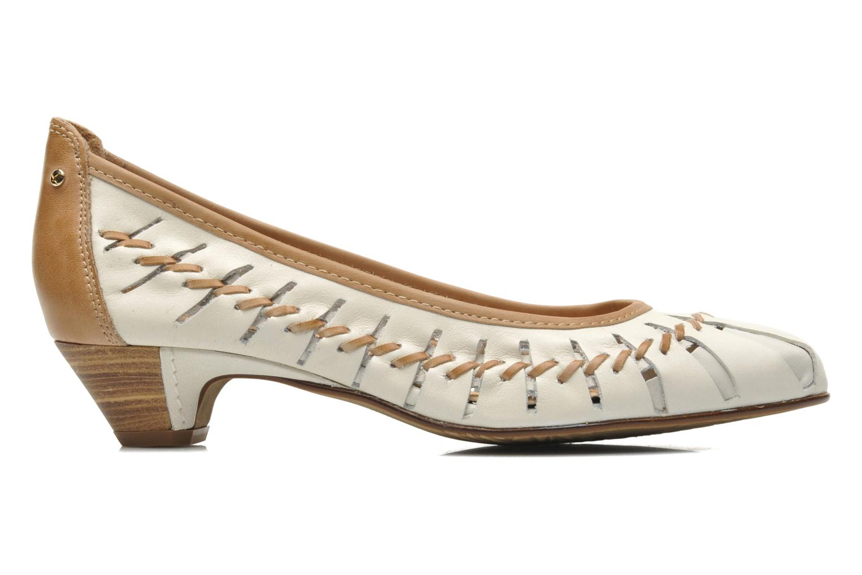 High heels Pikolinos Elba W4B-5528 Beige back view