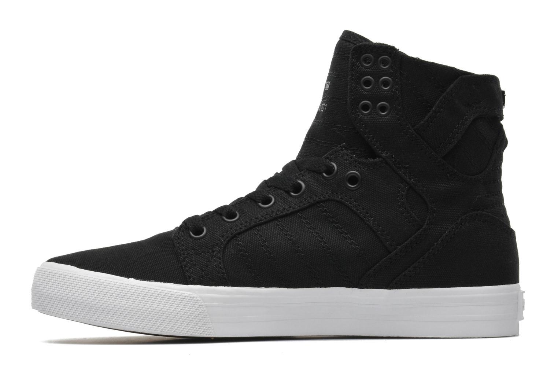 Sneaker Supra Skytop D schwarz ansicht von vorne