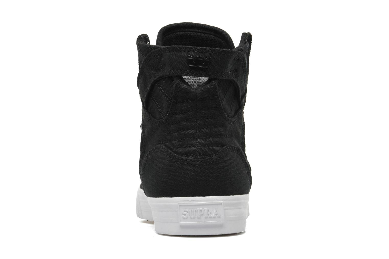 Sneaker Supra Skytop D schwarz ansicht von rechts