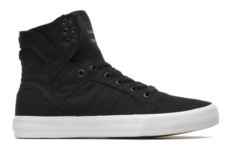 Sneaker Supra Skytop D schwarz ansicht von hinten
