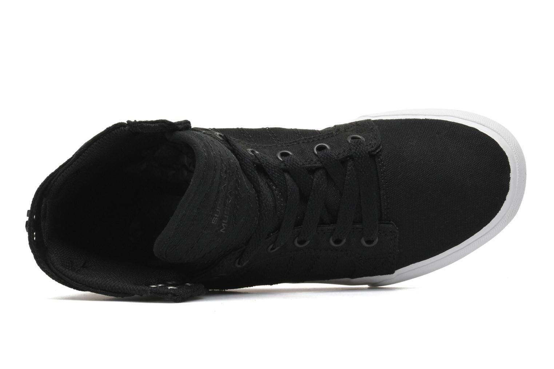 Sneaker Supra Skytop D schwarz ansicht von links