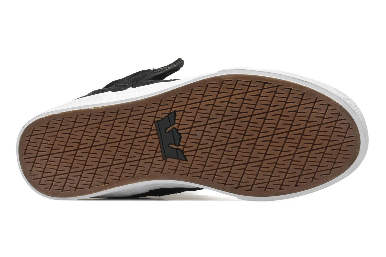 Sneaker Supra Skytop D schwarz ansicht von oben