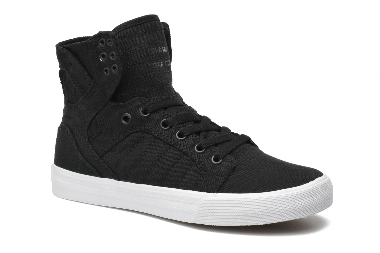 Sneaker Supra Skytop D schwarz detaillierte ansicht/modell