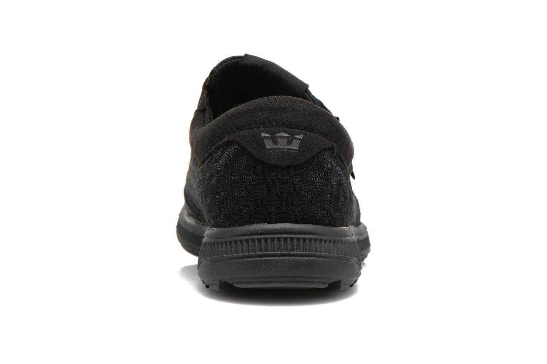 Sneaker Supra Hammer run W schwarz ansicht von rechts