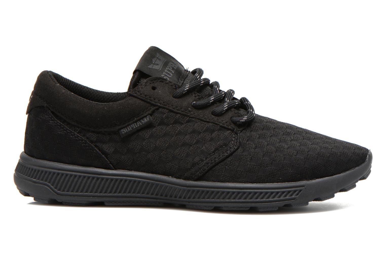 Sneaker Supra Hammer run W schwarz ansicht von hinten