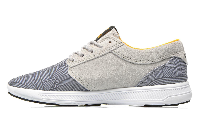 Sneaker Supra Hammer run W grau ansicht von vorne