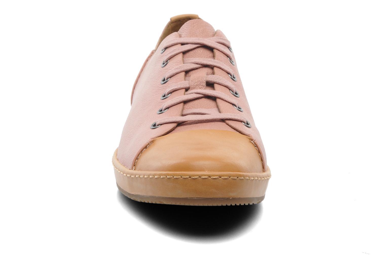 Sneaker Clarks Flounce Free rosa schuhe getragen