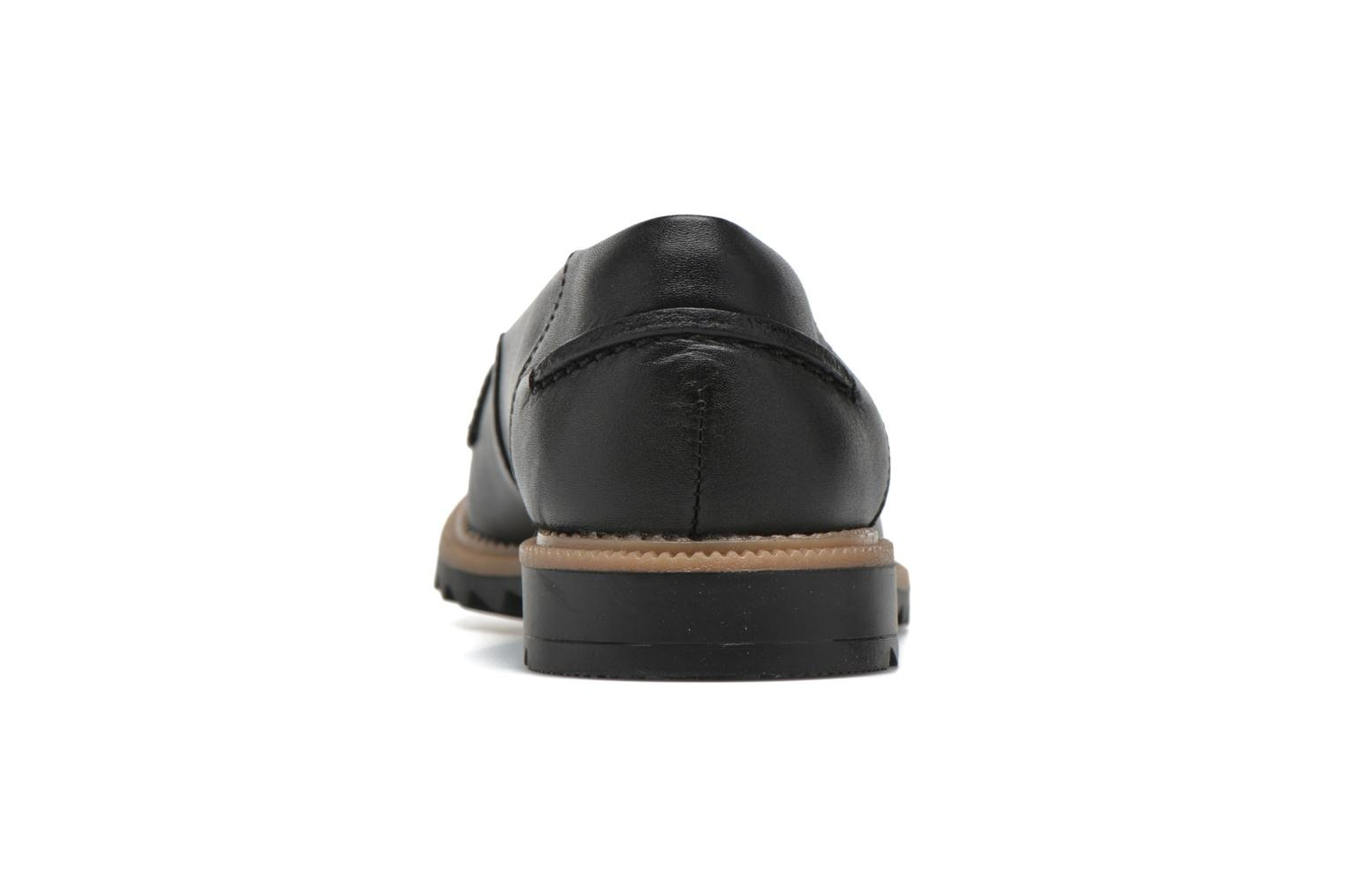 Loafers Clarks Griffin Milly Black view from the right