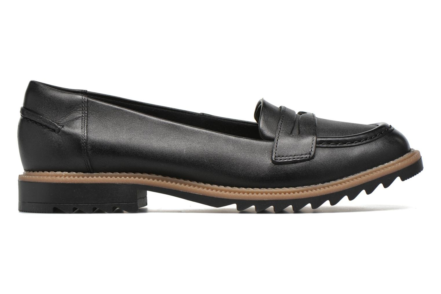 Loafers Clarks Griffin Milly Black back view