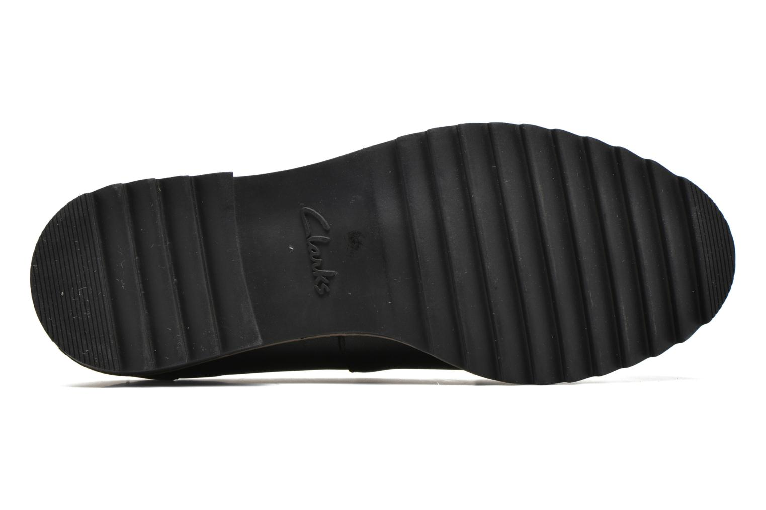 Loafers Clarks Griffin Milly Black view from above