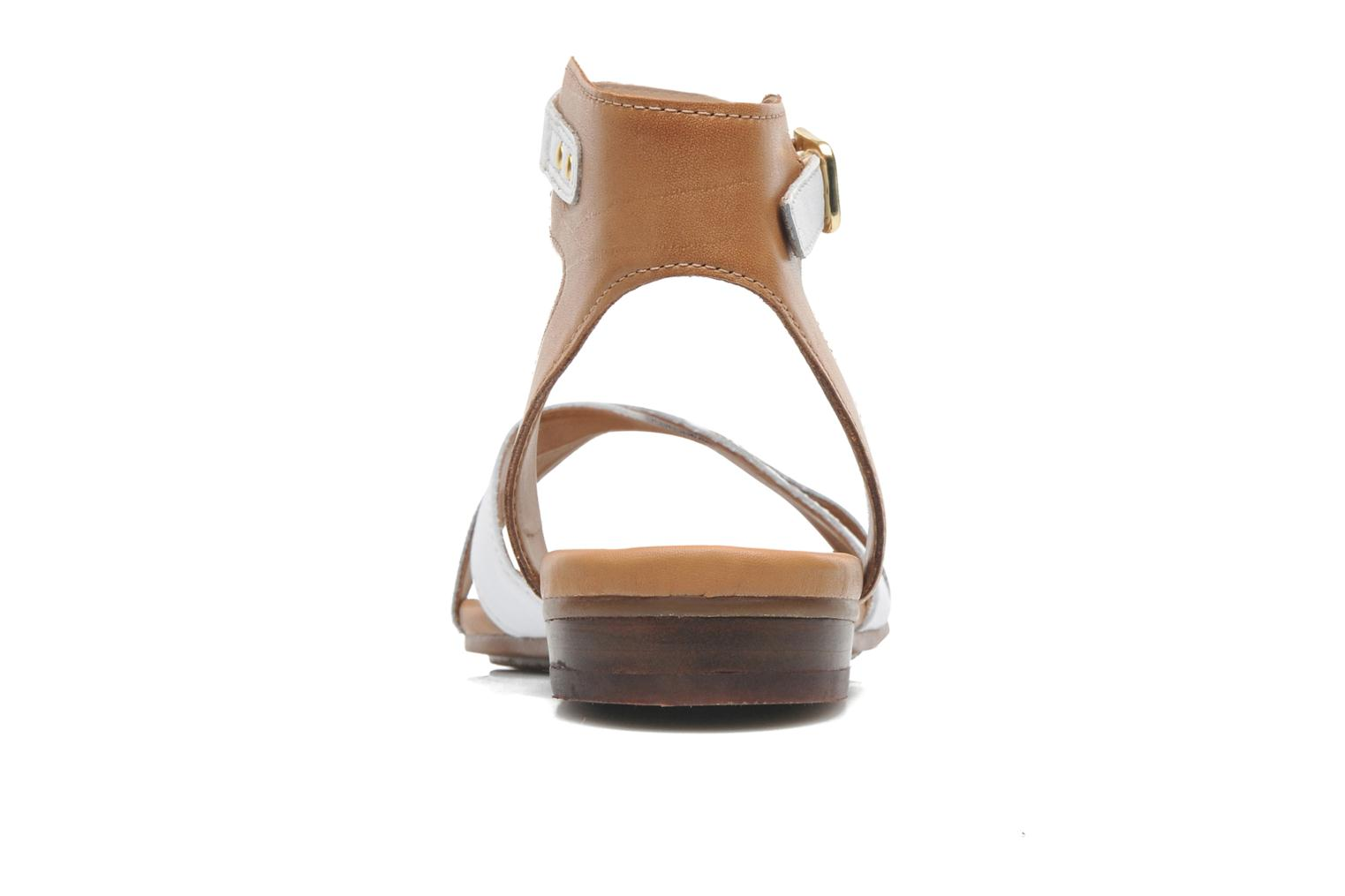 Sandals Clarks Viveca Zeal White view from the right