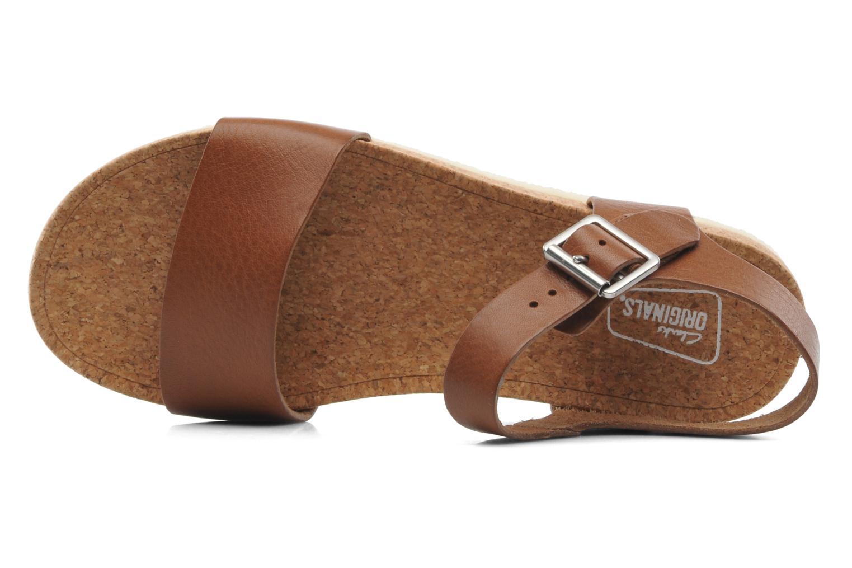 Sandales et nu-pieds Clarks Originals Dusty Soul Marron vue gauche