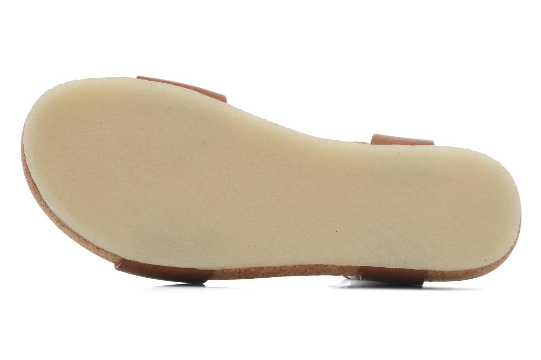 Sandales et nu-pieds Clarks Originals Dusty Soul Marron vue haut