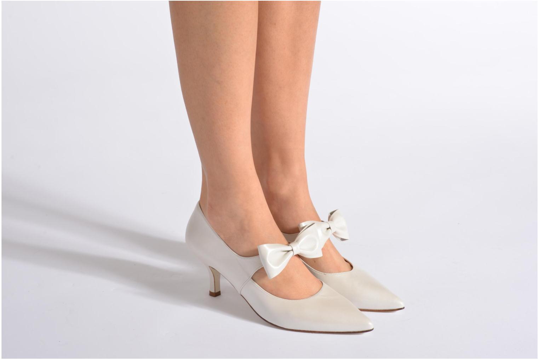 Zapatos de tacón Georgia Rose Rulove Blanco vista de abajo