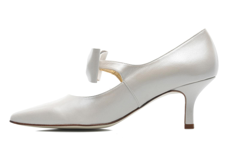 Zapatos de tacón Georgia Rose Rulove Blanco vista de frente