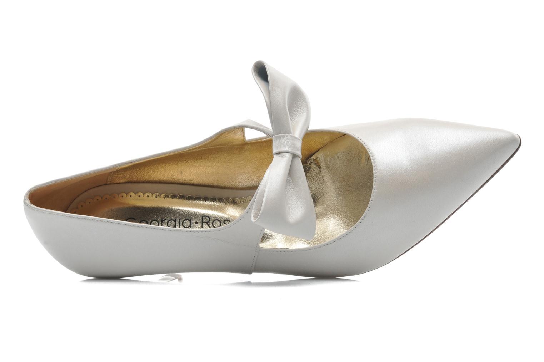 Zapatos de tacón Georgia Rose Rulove Blanco vista lateral izquierda