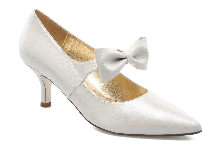 Zapatos de tacón Georgia Rose Rulove Blanco vista de detalle / par