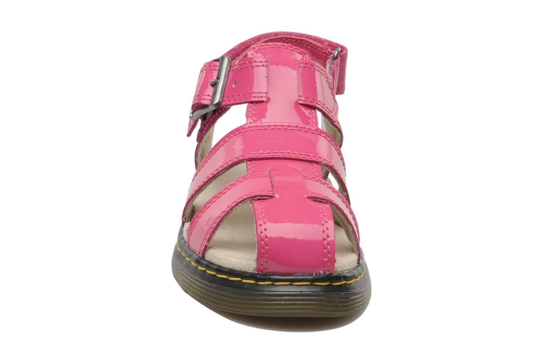 Sandales et nu-pieds Dr. Martens Sailor Junior Rose vue portées chaussures