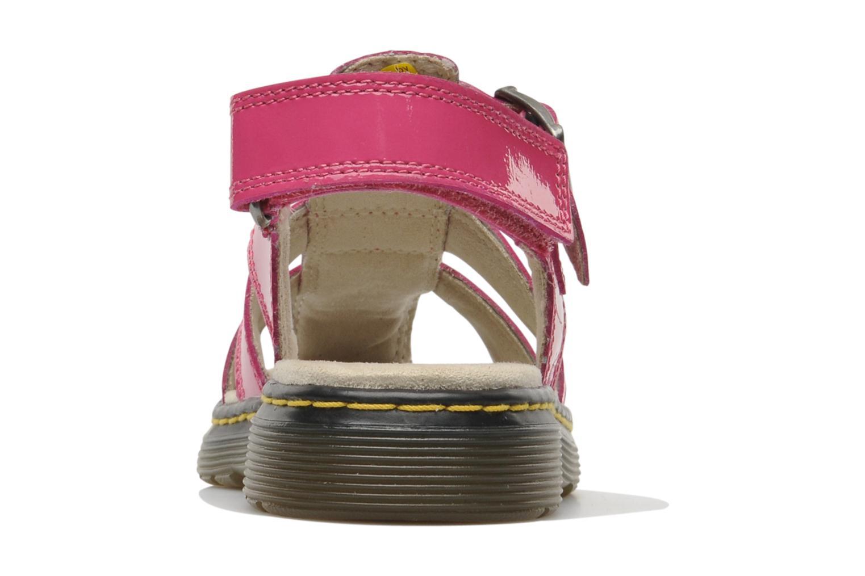 Sandales et nu-pieds Dr. Martens Sailor Junior Rose vue droite