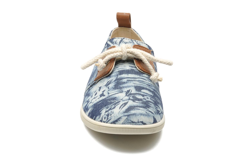 Baskets Armistice Stone One wax W Bleu vue portées chaussures