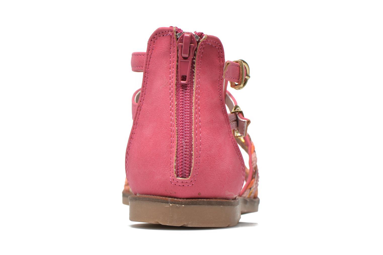 Sandalias I Love Shoes Tina Rosa vista lateral derecha