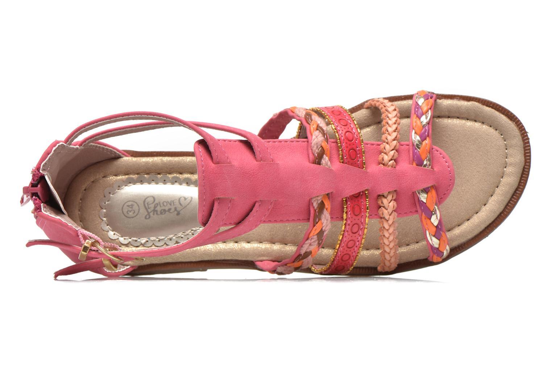 Sandalias I Love Shoes Tina Rosa vista lateral izquierda