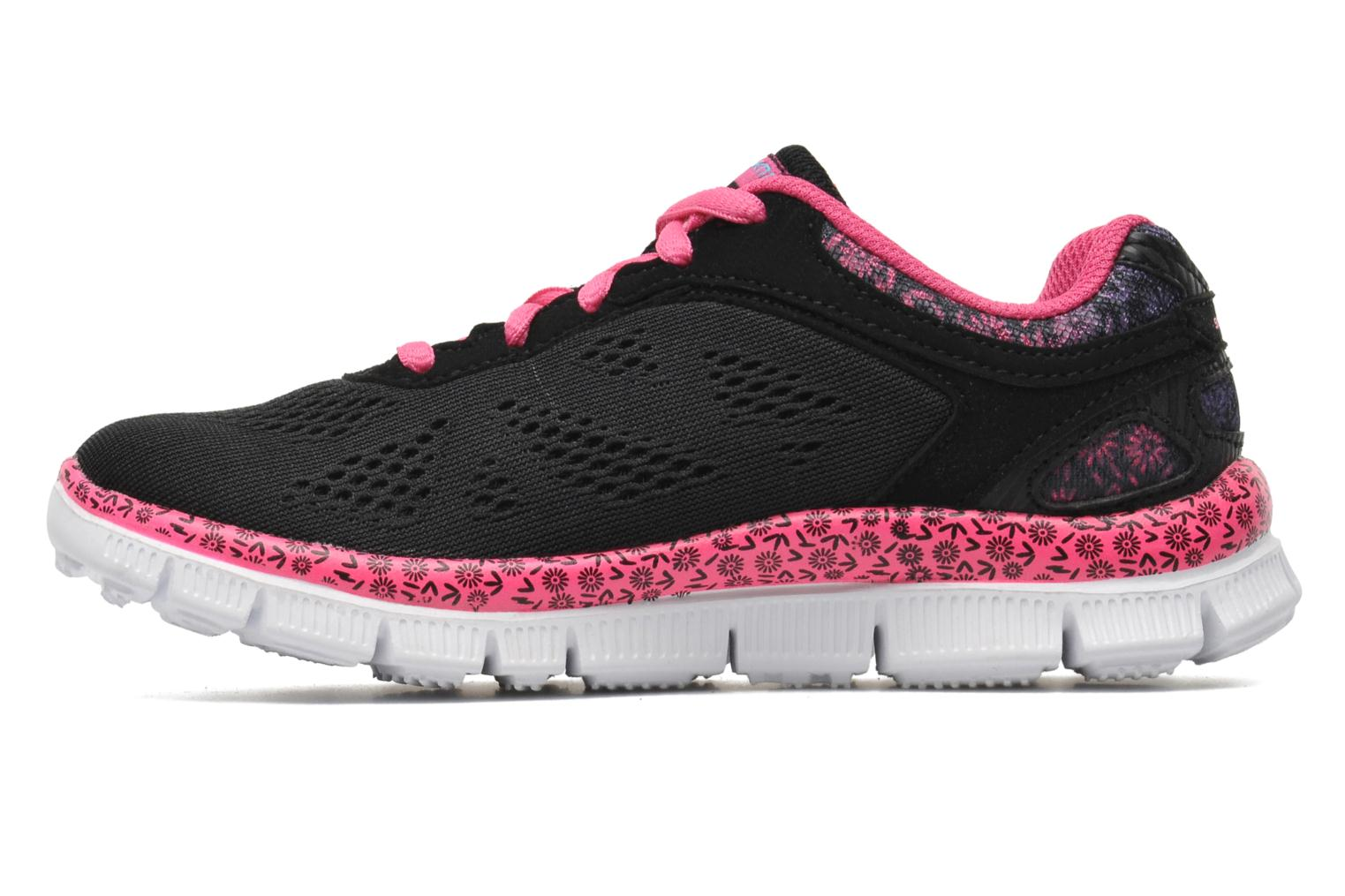 Trainers Skechers Skech Appeal Island Style Black front view