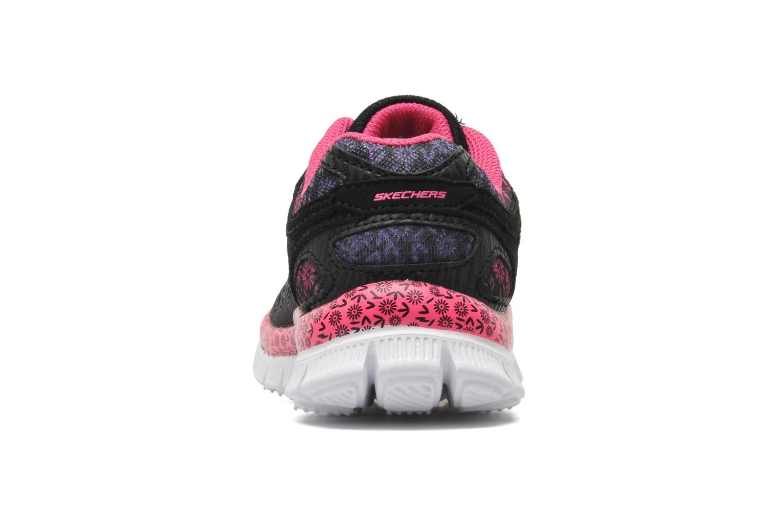 Trainers Skechers Skech Appeal Island Style Black view from the right