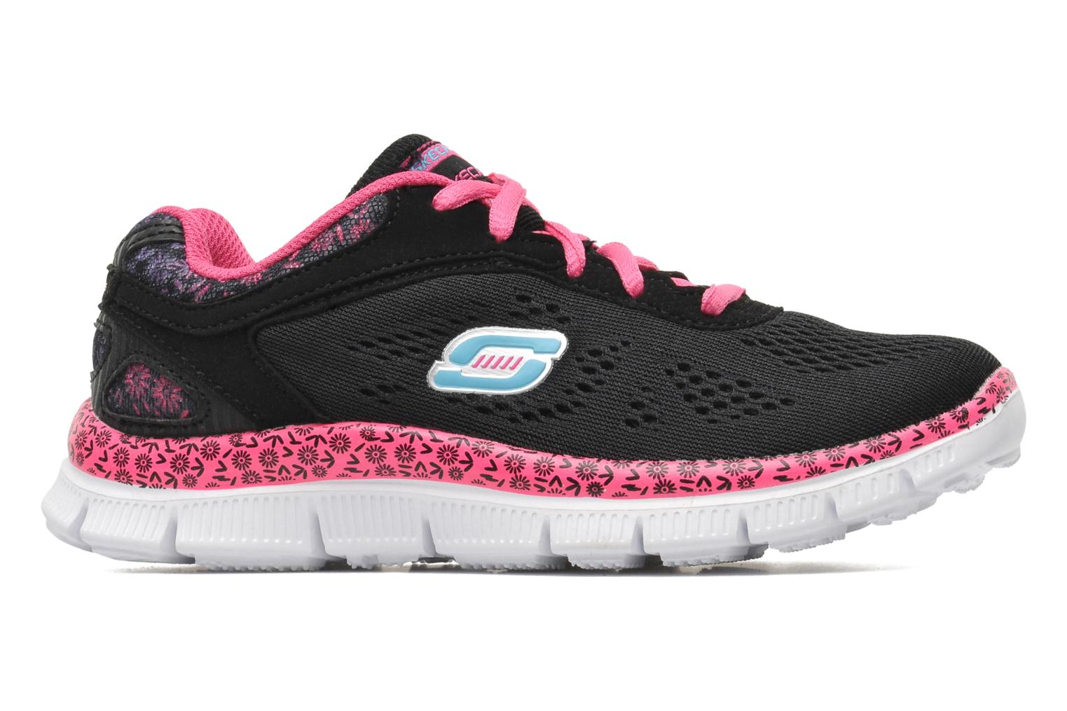 Trainers Skechers Skech Appeal Island Style Black back view