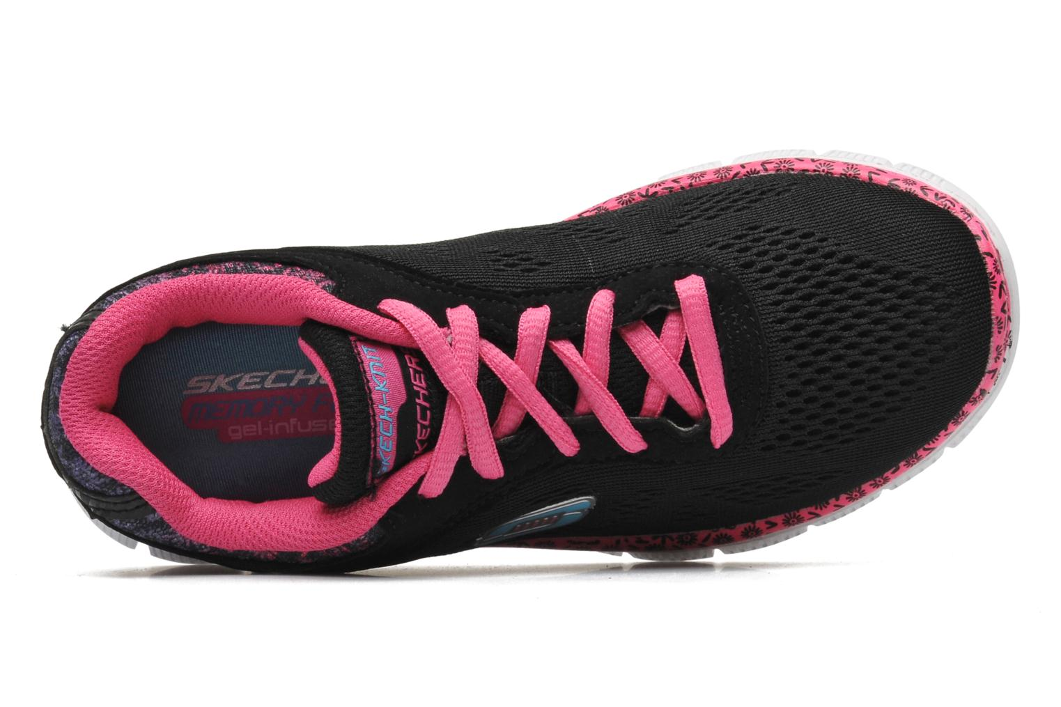 Trainers Skechers Skech Appeal Island Style Black view from the left