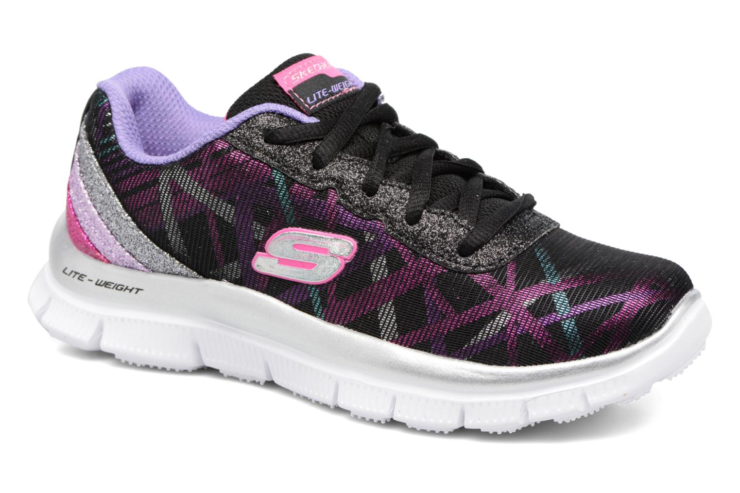 Trainers Skechers Skech Appeal Black detailed view/ Pair view