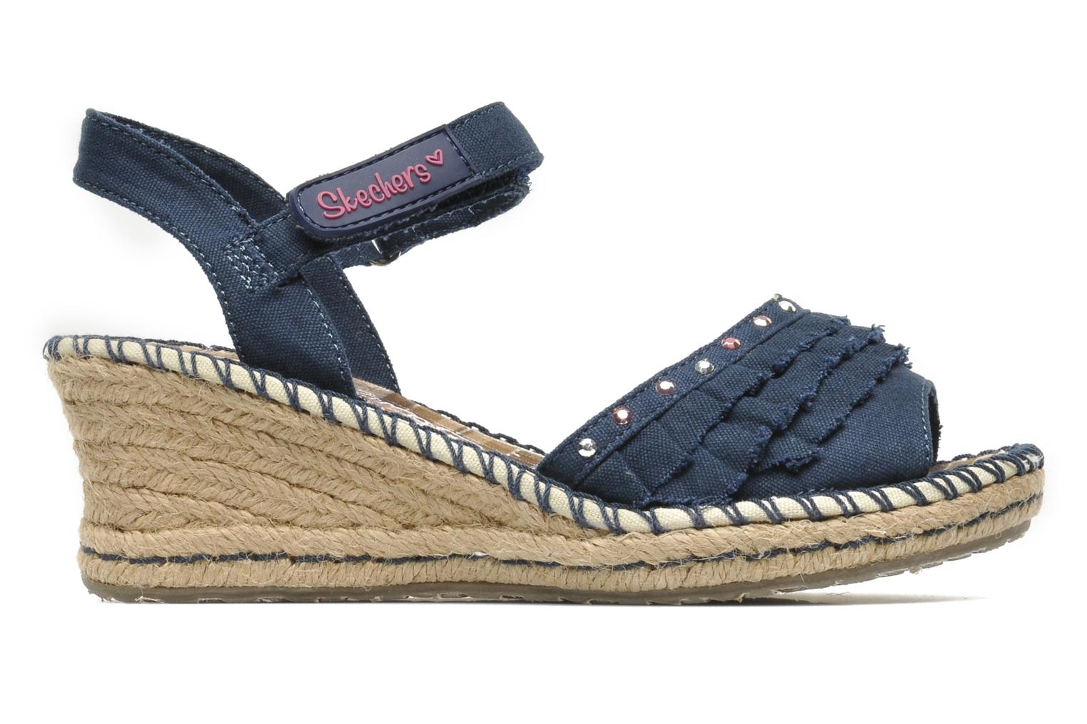 Sandals Skechers TikisRuffle Ups Blue back view