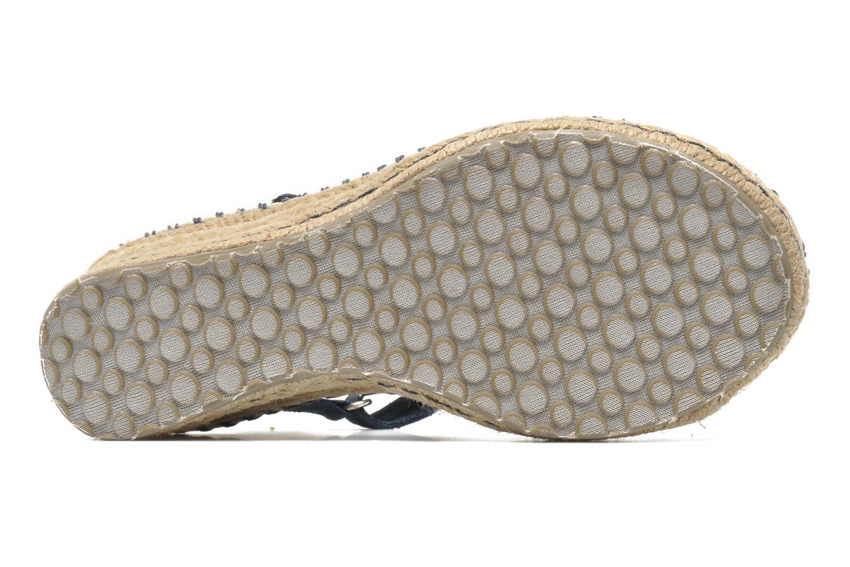 Sandalen Skechers TikisRuffle Ups blau ansicht von oben
