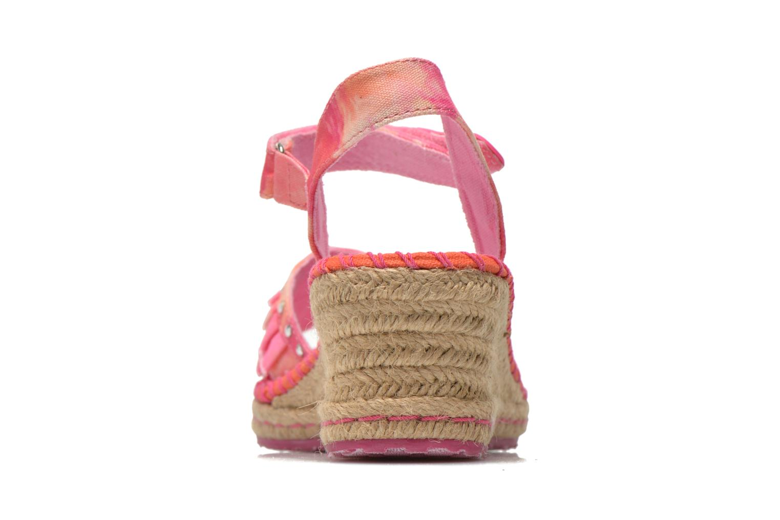 Sandals Skechers TikisRuffle Ups Pink view from the right