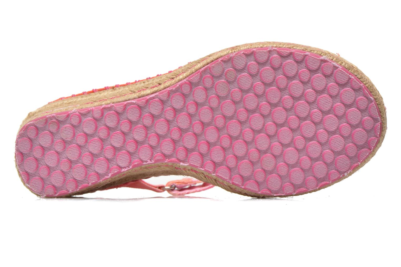 Sandalen Skechers TikisRuffle Ups rosa ansicht von oben