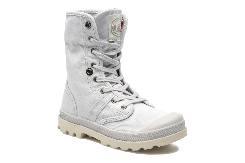 Bottines et boots Palladium Baggy Twl K Gris vue 3/4