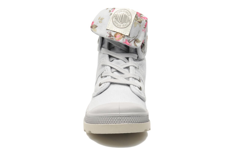 Bottines et boots Palladium Baggy Twl K Gris vue portées chaussures