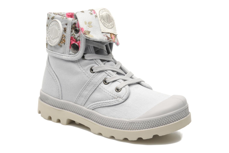 Bottines et boots Palladium Baggy Twl K Gris vue détail/paire