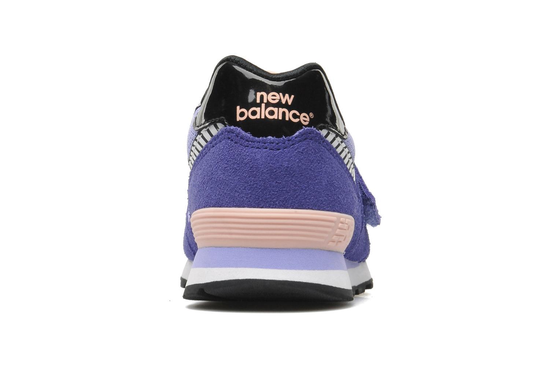 Baskets New Balance KV574LRY Violet vue droite