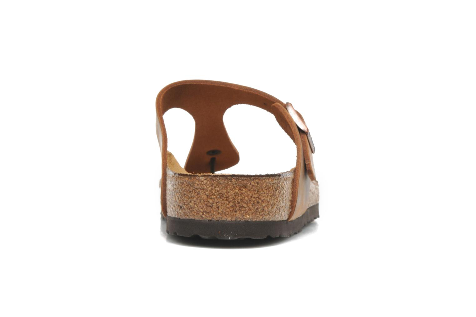 Mules & clogs Birkenstock Gizeh Cuir W Brown view from the right