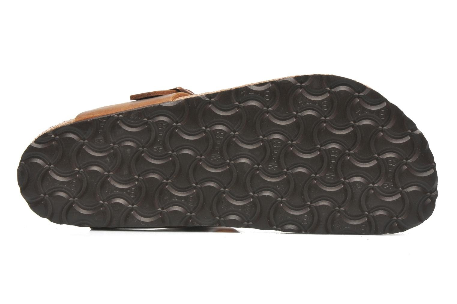 Mules & clogs Birkenstock Gizeh Cuir W Brown view from above