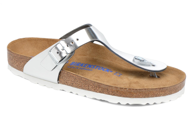 Gizeh Cuir W Silver Soft Footbed