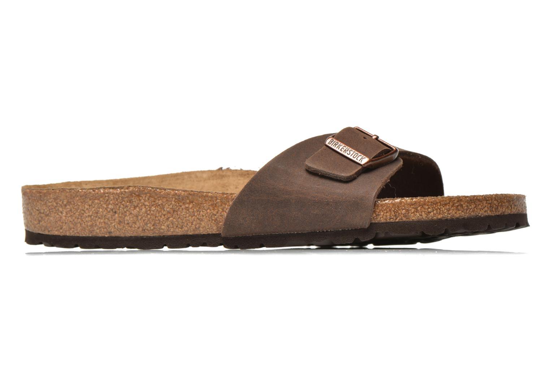 Sandales et nu-pieds Birkenstock Madrid Microfibre M Marron vue derrière