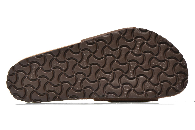 Sandales et nu-pieds Birkenstock Madrid Microfibre M Marron vue haut
