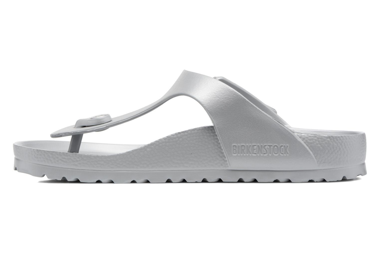 Sandali e scarpe aperte Birkenstock Gizeh EVA W Grigio immagine frontale