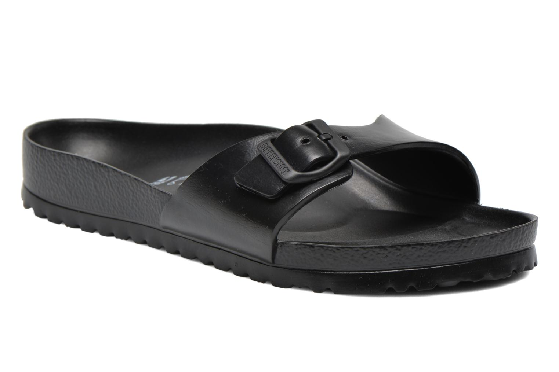 Sandales et nu-pieds Birkenstock Madrid EVA M Noir vue détail/paire